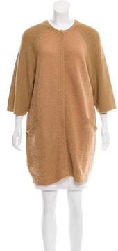 Cacharel Wool Zip-Up Cardigan
