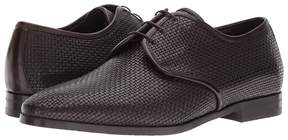 Canali Woven Oxford Men's Slip on Shoes
