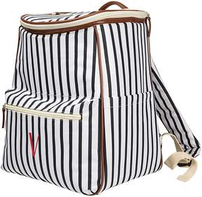 Cathy's Concepts Cathys Concepts Monogram Striped Backpack Cooler