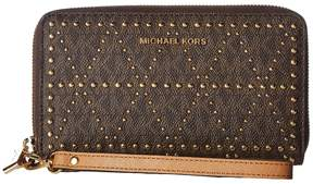 MICHAEL Michael Kors Large Flat Multifunction Phone Case Cell Phone Case