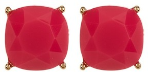 Carolee 12K Gold Square Stud Earrings