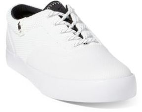 Ralph Lauren Vernon Mesh Low-Top Sneaker White 10