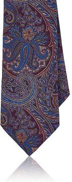 Barneys New York Men's Paisley Silk Necktie