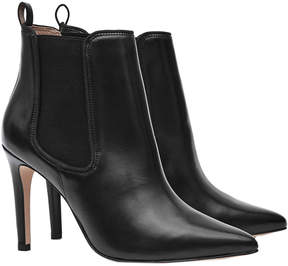 Reiss Raimonda Leather Ankle Boot