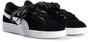 Puma Black Smash V2 Ribbon Trainers