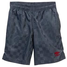 Umbro Checkerboard Shorts (Big Boys)