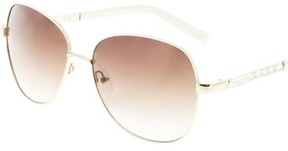 GUESS Gradient GF0256-32F-60 Gold Butterfly Sunglasses