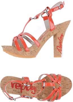 Replay Platform sandals