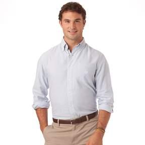 Chaps Big & Tall Bengal Striped Oxford Casual Button-Down Shirt