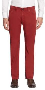 Luciano Barbera Slim Cotton Jeans