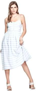 GUESS Women's Caterina Striped Dress