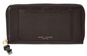 Marc Jacobs Recruit Standard Leather Continental Wallet. - BLACK - STYLE