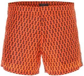 Prada Linea Rossa Tropical Nylon Swim Shorts