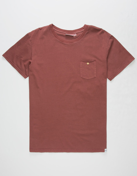 rhythm Everyday Mens Pocket Tee