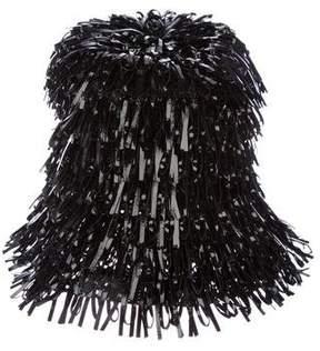 Balenciaga Vinyl Bucket Hat w/ Tags