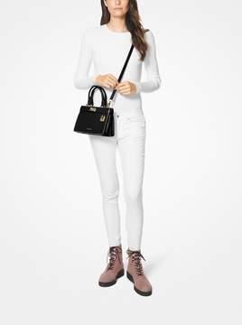 MICHAEL Michael Kors Tatiana Mini Leather Satchel