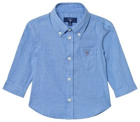 Gant Blue Oxford Stripe Shirt