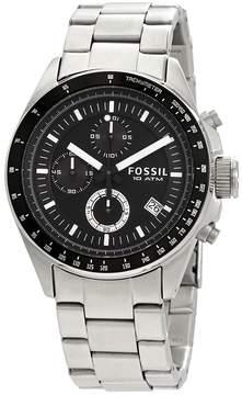 Fossil Decker Chronograph Black Dial Men's Watch