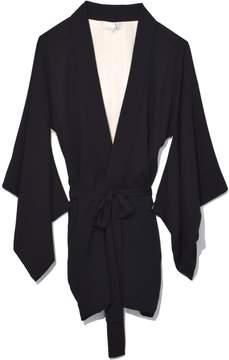 Fleur Du Mal Haori Kimono in Black