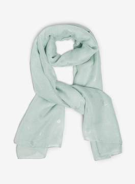 Dorothy Perkins Mint Seahorse Foil Scarf