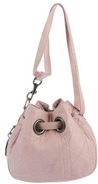 Christian Dior Leather Cannage Hobo