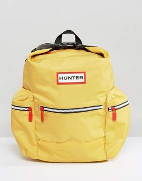 Hunter Original Mini Yellow Nylon Backpack