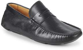 Saks Fifth Avenue Men's Perforated Leather Penny Loafers