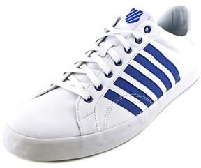 K-Swiss Belmont So T Round Toe Canvas Sneakers.