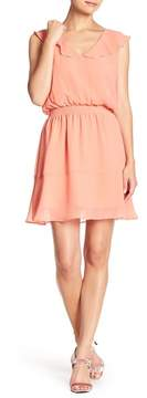 Cupcakes And Cashmere Iniko Chiffon Tie Back Dress