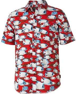 Royal Robbins Throwback Fish Short Sleeve Shirt (Men's)