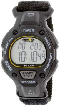 Timex Men's Ironman Classic 30 Full-Size Watch, Black Fast Wrap Strap