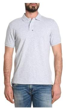 Parajumpers Men's Grey Cotton Polo Shirt.