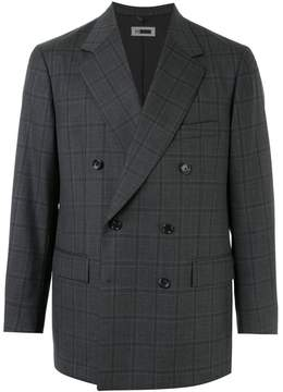 H Beauty&Youth double breasted checked suit