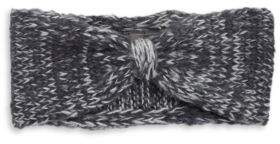 Wooden Ships Marled Wool-Blend Knit Bow Headband