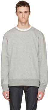 Nudie Jeans Grey Evert Light Sweatshirt