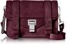 Proenza Schouler PS1 Mini Dark Grape Suede Crossbody Bag