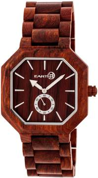 Earth Acadia Red Dial Watch