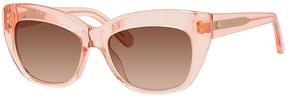 Safilo USA Kate Spade Crimson Rectangle Sunglasses