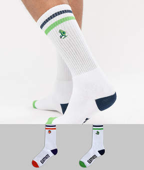 Element High Rise 2 Pack Socks