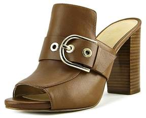 Michael Kors Womens Cooper Mule Leather Open Toe Mules