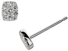 Bony Levy Women's 'Mika' Mini Rectangle Pave Diamond Stud Earrings (Nordstrom Exclusive)