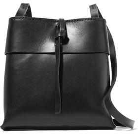 KARA Nano Tie Leather Shoulder Bag