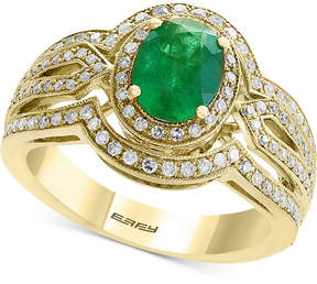 Effy Final Call by Emerald (1-1/6 ct. t.w.) & Diamond (1/2 ct. t.w.) Ring in 14k Gold