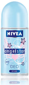 Nivea Angel Star Icy Kiss Deo Roll-on by 50ml Deodorant)