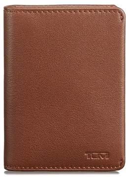 Tumi Leather RFID Card Case