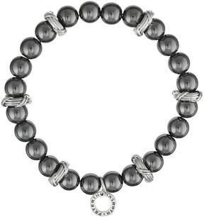 Peter Thomas Roth Explorer Silver Hematite Beaded Bracelet