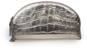 Eric Javits | Leather Croissant | Silver