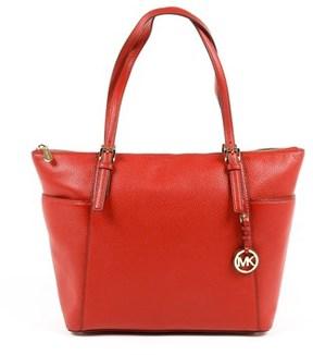 Michael Kors Womens Handbag Jet Set Item. - RED - STYLE