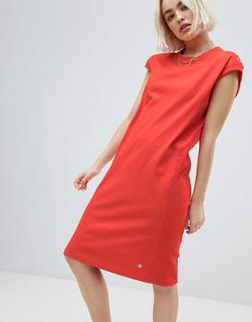 Champion mIDI Dress With Small Logo Detail