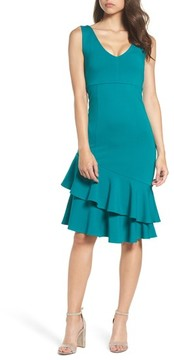 Felicity & Coco Women's Ruffle Midi Dress